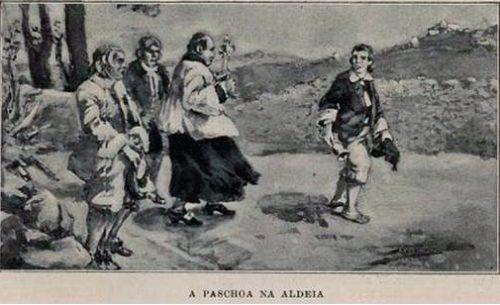 A Páscoa na aldeia