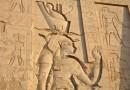 O calendário egípcio está relacionado com as cheias do rio Nilo