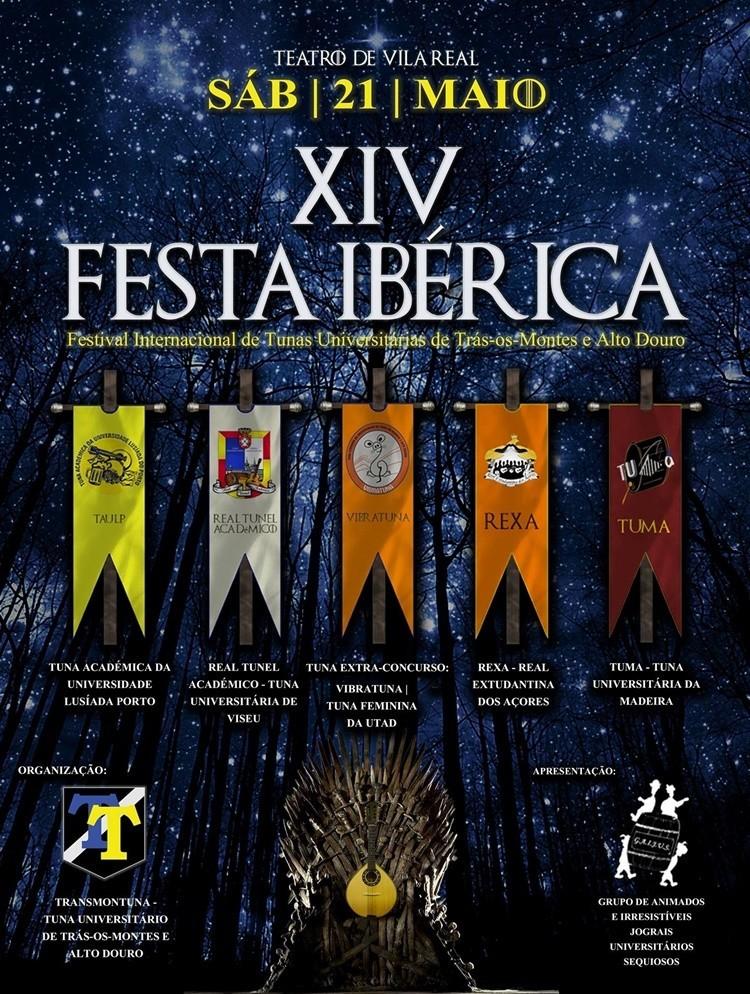 Cartaz da XIV Festa Ibérica