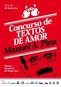 Concurso de escrita criativa - textos de amor - promovido pelo Museu Nacional da Imprensa