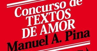 Concurso de Textos de Amor – Manuel A. Pina