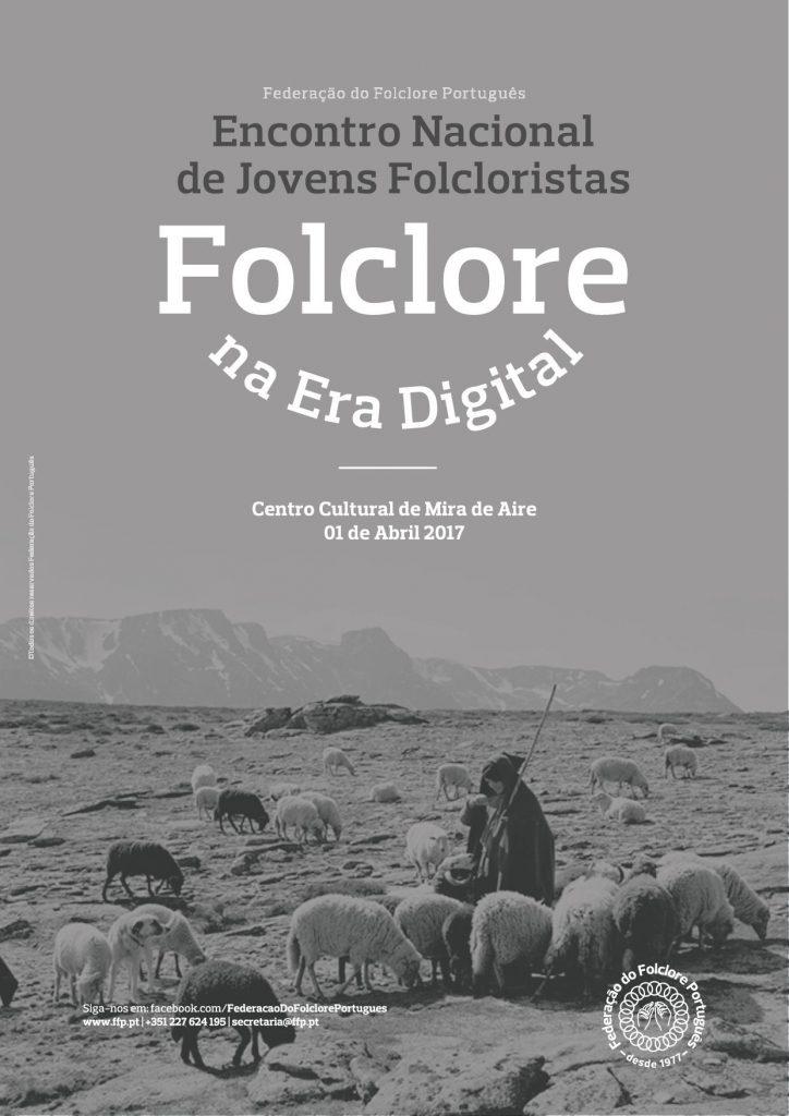 Cartaz do Encontro Nacional de Jovens Folcloristas