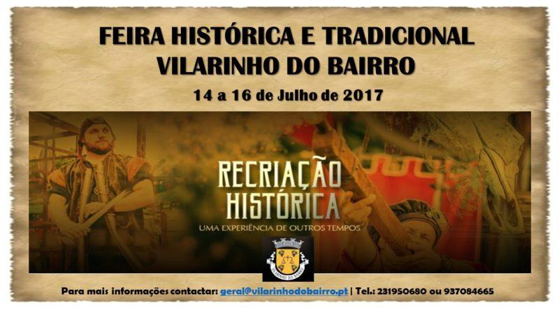Feira Histórica e Tradicional de Vilarinho do Bairro - Julho