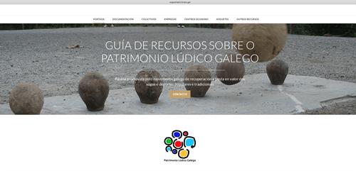 Base de dados sobre os Jogos Tradicionais Galegos