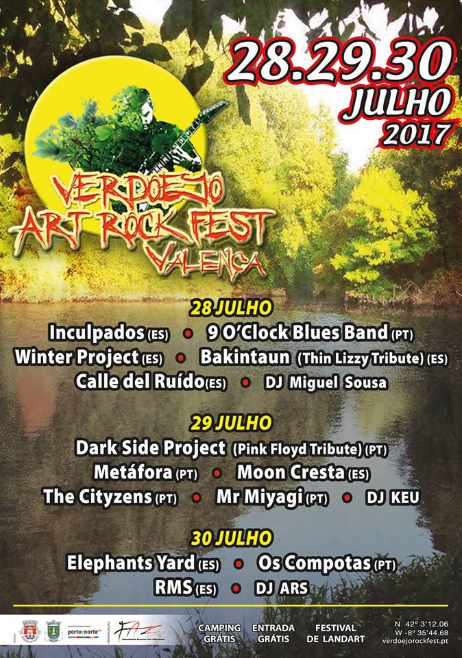 Festival de Música no Parque de Merendas de Verdoejo - Valença do Minho