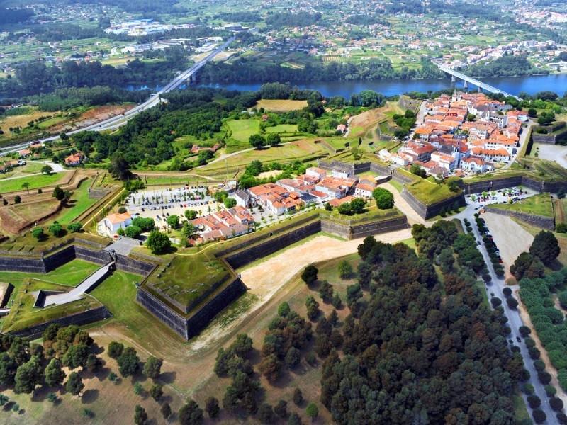 Valença do Minho, uma fortaleza abaluartada no norte de Portugal