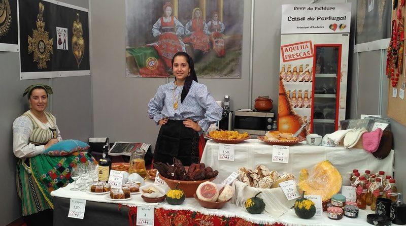 Cultura popular portuguesa na Feira Comercial em Andorra