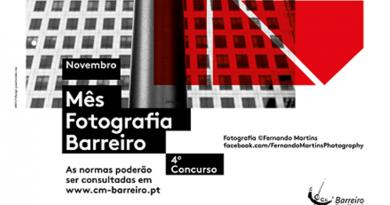 Novembro é o mês da Fotografia no Barreiro. Concursos -Exposições - Workshops - Visitas Guiadas