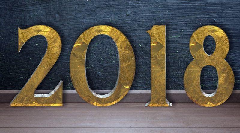Introdução a calendário mensal para 2018