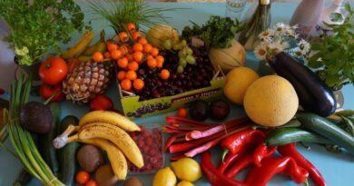 Frutas e legumes que se devem consumir em Novembro