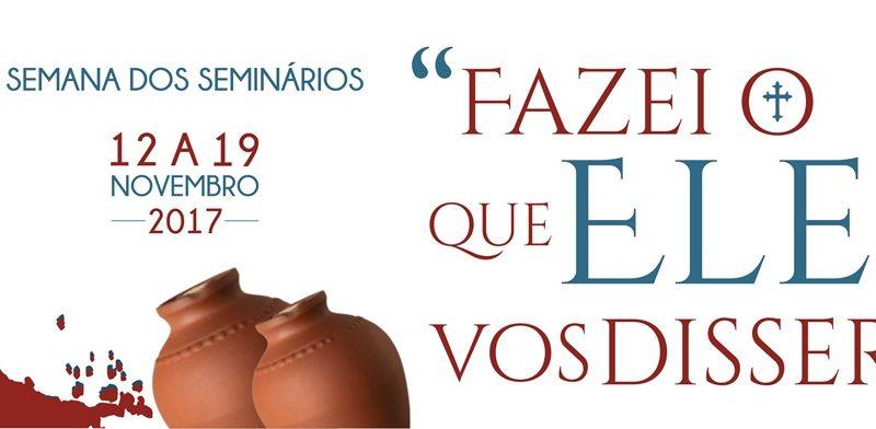 Semana de Oração pelos Seminários - 12 a 19 de Novembro de 2017