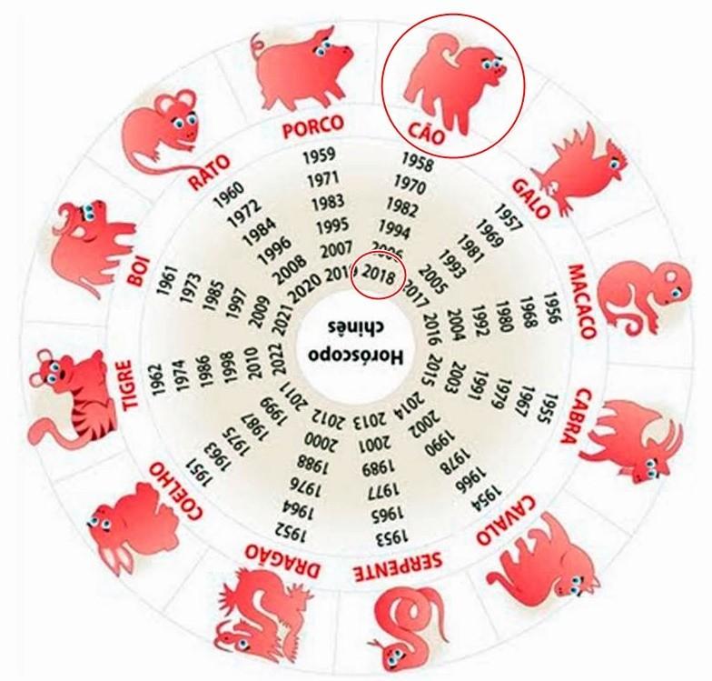 Os signos do horóscopo chinês, de acordo com os anos de nascimento!