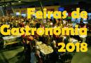 Feiras e Festivais de Gastronomia ou produtos gastronómicos em 2018