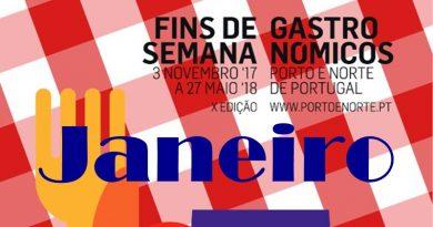 Fins-de-semana-gastronómicos - Janeiro 2018 - Turismo - Norte de Portugal