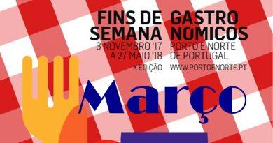 Fins-de-semana Gastronómicos - Março 2018