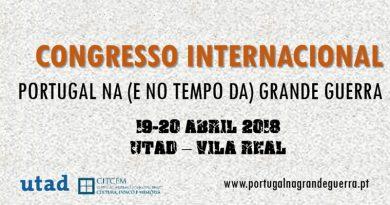 Congresso Internacional sobre Portugal na Grande Guerra