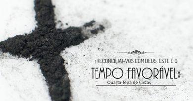 Quarta-feira de Cinzas: Reconciliai-vos com Deus. Este é o tempo favorável