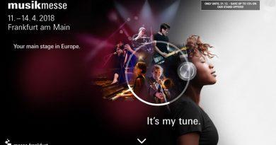 Musikmesse - Feira Internacional de Música em Frankfurt