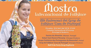 Mostra Internacional de Folclore no Principado de Andorra