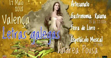 Valença promove atividades no Dia das Letras Galegas