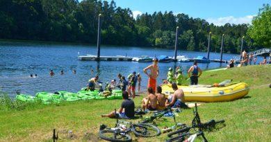 Verão refrescante e divertido no Rio Minho, em Valença