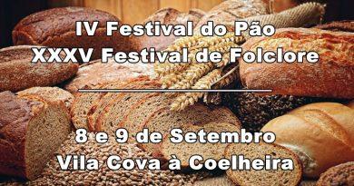 IV Festival do Pão e XXXV Festival de Folclore