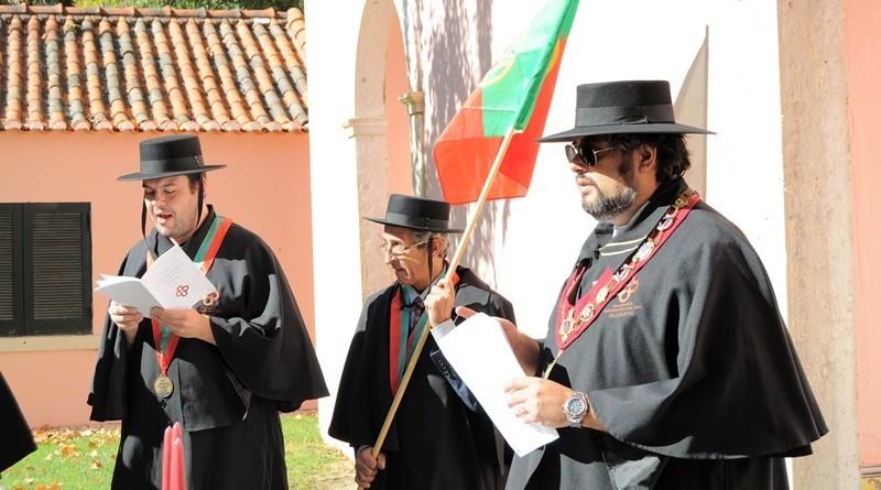 Cerimónia de Entronização na Confraria dos Enchidos