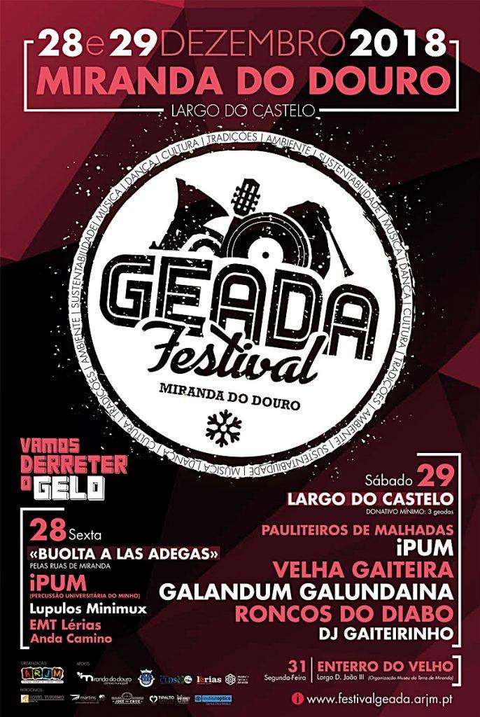Festival GEADA – Vamos derreter o Gelo!