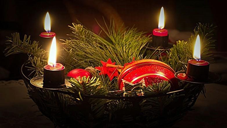 Coroa do Advento | Ano litúrgico cristão