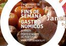 Fins-de-semana Gastronómicos   Janeiro 2019