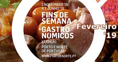 Fins-de-semana Gastronómicos | Fevereiro 2019