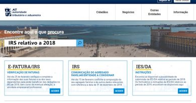 IRS relativo a 2018 – Atenção a estas datas limite!