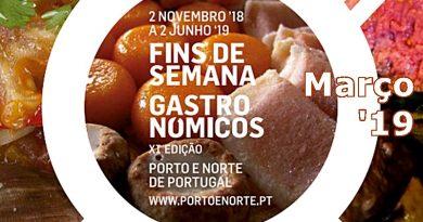 Fins-de-semana Gastronómicos | Março 2019