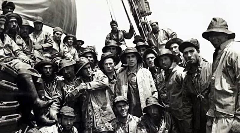 Homenagem aos pescadores que não temem o mar!