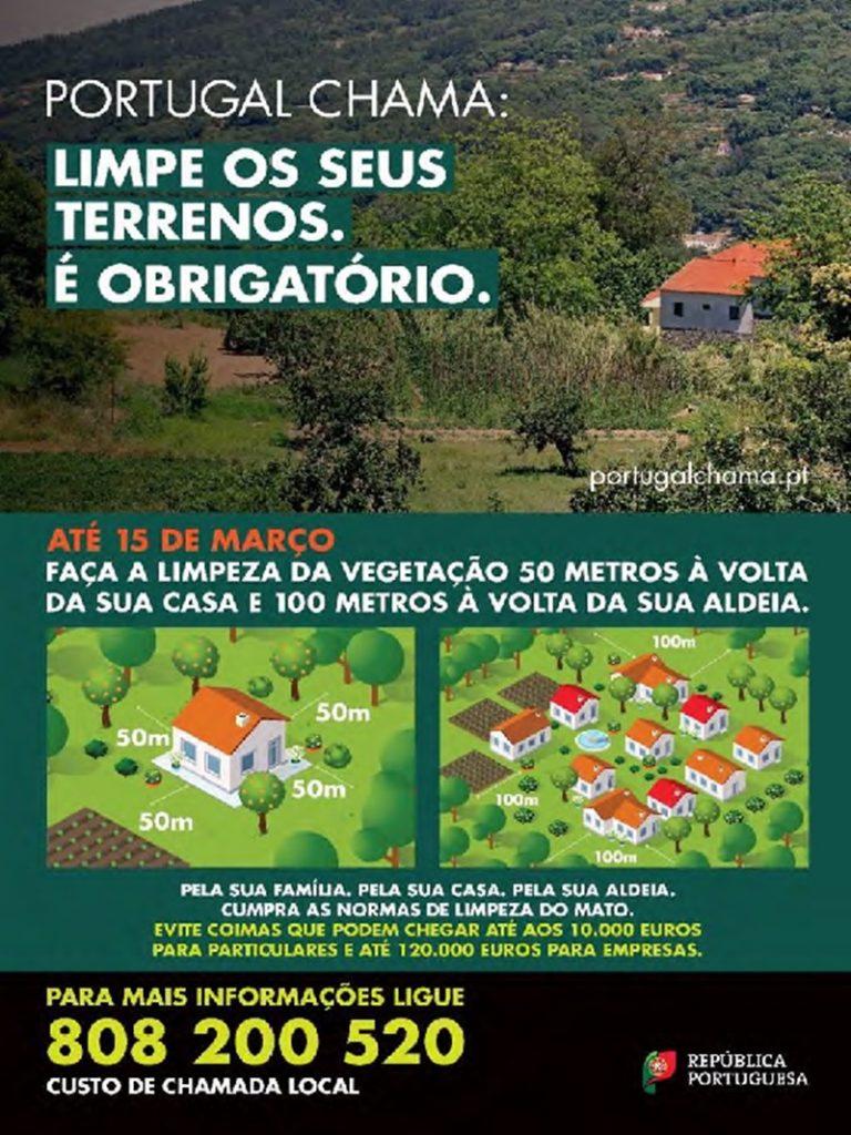 Limpeza das Florestas - comunicação da AT