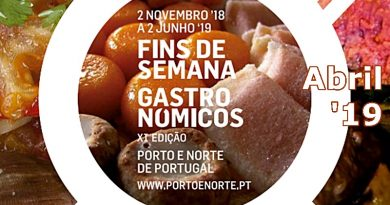 Fins-de-semana Gastronómicos | Abril 2019