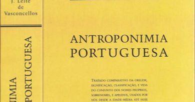 A importância cultural da Antroponímia