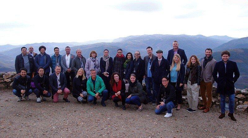 Importadores de vinho que estiveram, em Outubro, na região à descoberta dos vinhos do Douro e Porto.