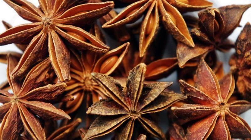 O anis estrelado é bom para a nossa saúde.
