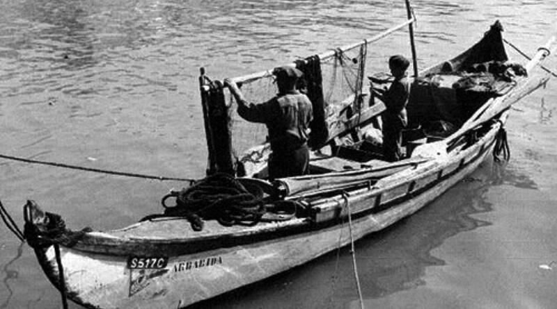 Embarcações tradicionais portuguesas - Saveiro no rio Sado!
