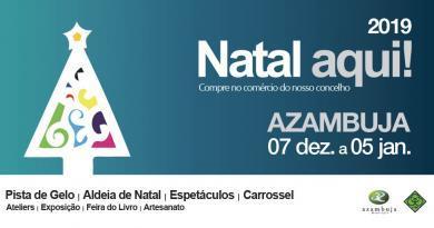 Natal Aqui - iniciativa promovida pelo Município de Azambuja!