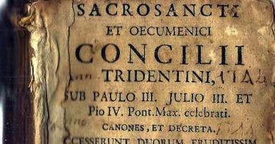 13 de Dezembro de 1545 – início do Concílio de Trento