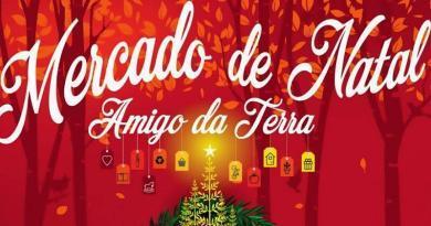 Mercado de Natal Amigo da Terra 2019 - Almada