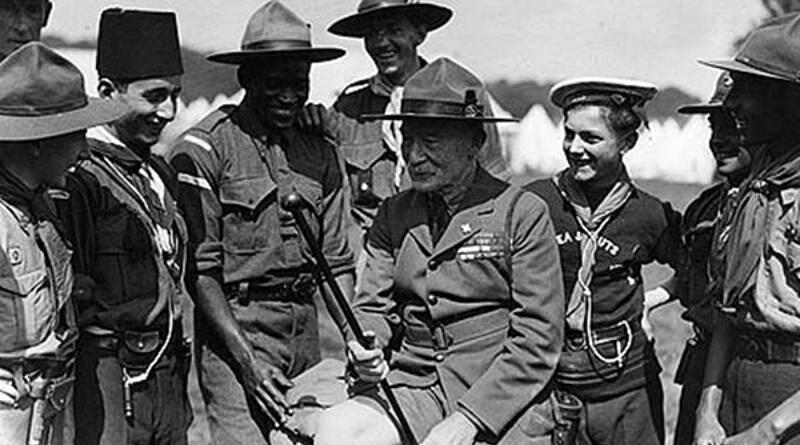 Baden-Powell, fundador do Escutismo!