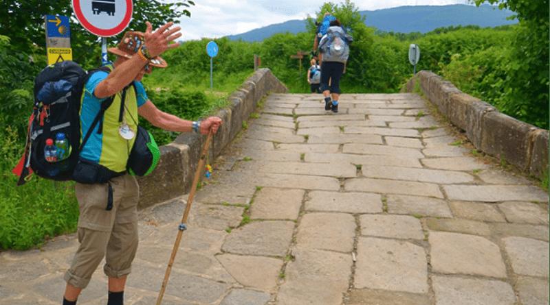 Novo recorde de peregrinos em Valença: 89 mil peregrinos de todos os cantos do mundo passaram pela Eurocidade Valença-Tui.