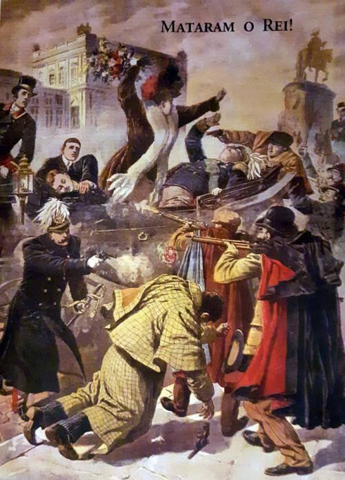 O regicídio: mataram o Rei D. Carlos – 1.2.1908