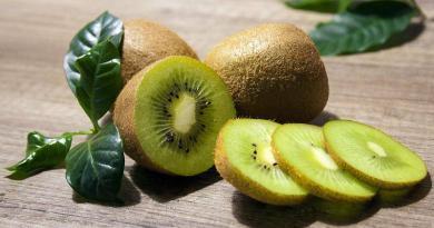 Kiwi é um fruto originário da China, muito rico em vitamina C