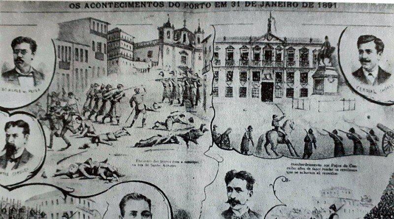 A revolta republicana de 31 de Janeiro de 1891, no Porto