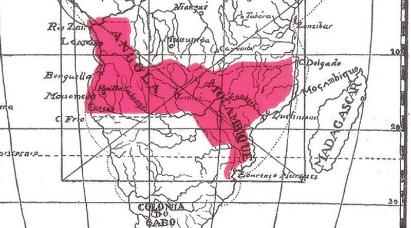 O Ultimato foi provocado pelo mapa cor-de-rosa