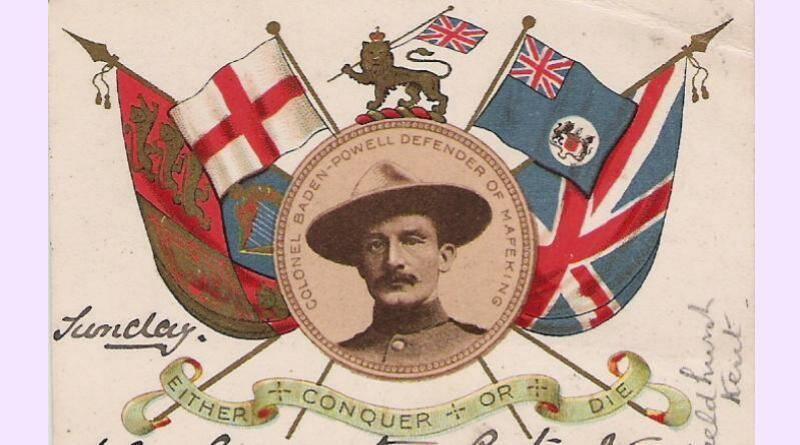 Fundador do Escutismo, Robert Stephenson Smyth Baden-Powell, nasceu em Londres, no dia 22 de Fevereiro de 1857